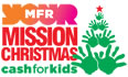 MFR Cash For Kids Misson Christmas Drop off Point