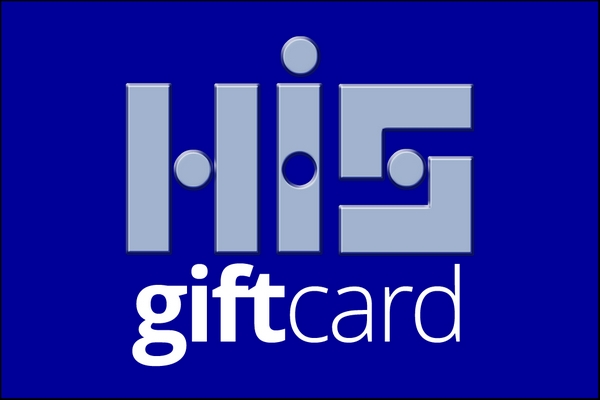 Gift cards are available in £5 increments.
